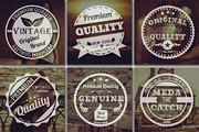Premium Vintage Badges-Graphicriver中文最全的素材分享平台