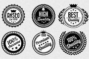 Quality Retro Badges-Graphicriver中文最全的素材分享平台