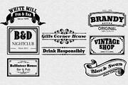 Vintage Logotype Labels Vol-Graphicriver中文最全的素材分享平台