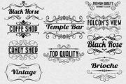 Vintage-Retro Labels Vol. 2-Graphicriver中文最全的素材分享平台