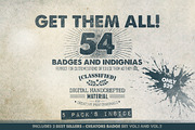 Get Them All - 54 Badges (B-Graphicriver中文最全的素材分享平台
