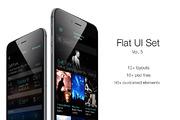 iOS Flat UI Set Vol. 5-Graphicriver中文最全的素材分享平台