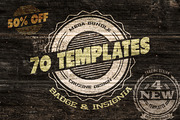 70 Logo / Badge / Insignia -Graphicriver中文最全的素材分享平台