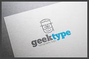 Geektype Logo Template-Graphicriver中文最全的素材分享平台