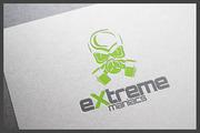 Extreme Maniacs Logo Templa-Graphicriver中文最全的素材分享平台