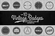 Vintage Badges Vol.2-Graphicriver中文最全的素材分享平台